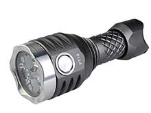 MecArmy PT10 Ultra Bright Rechargeable Flashlight - 3 x CREE XP-G2 - 800 Lumens - Includes 1 x 10440