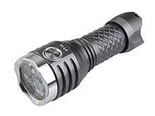 MecArmy PT14 Ultra Bright Rechargeable Flashlight - 3 x CREE XP-G2 - 900 Lumens - Includes 1 x 14500