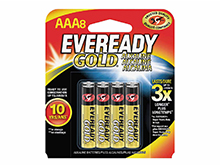 Energizer Eveready Gold A92-BP-8 AAA 1.5V Alkaline Button Top Batteries - 8 Piece Retail Card