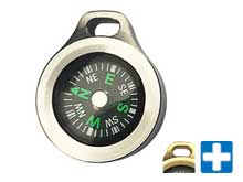 MecArmy CMP Glow In The Dark Compass - Brass or Titanium