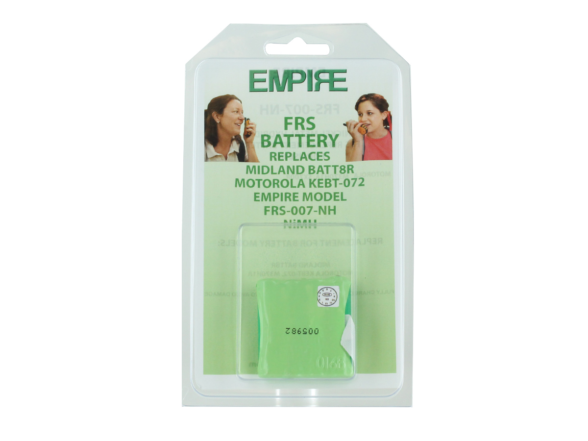 Empire FRS-007-NH battery pack packaging