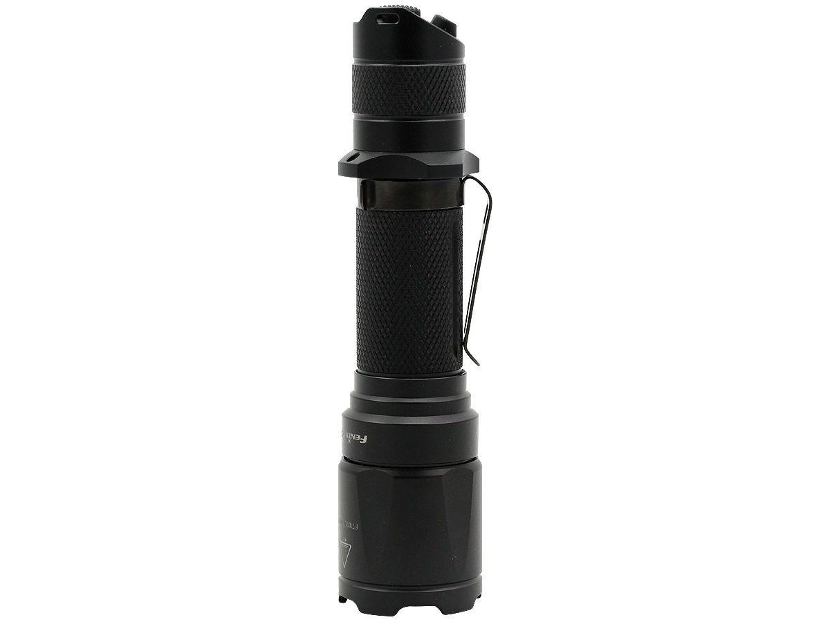 Standing Shot of the Fenix TK16 Tactical Flashlight