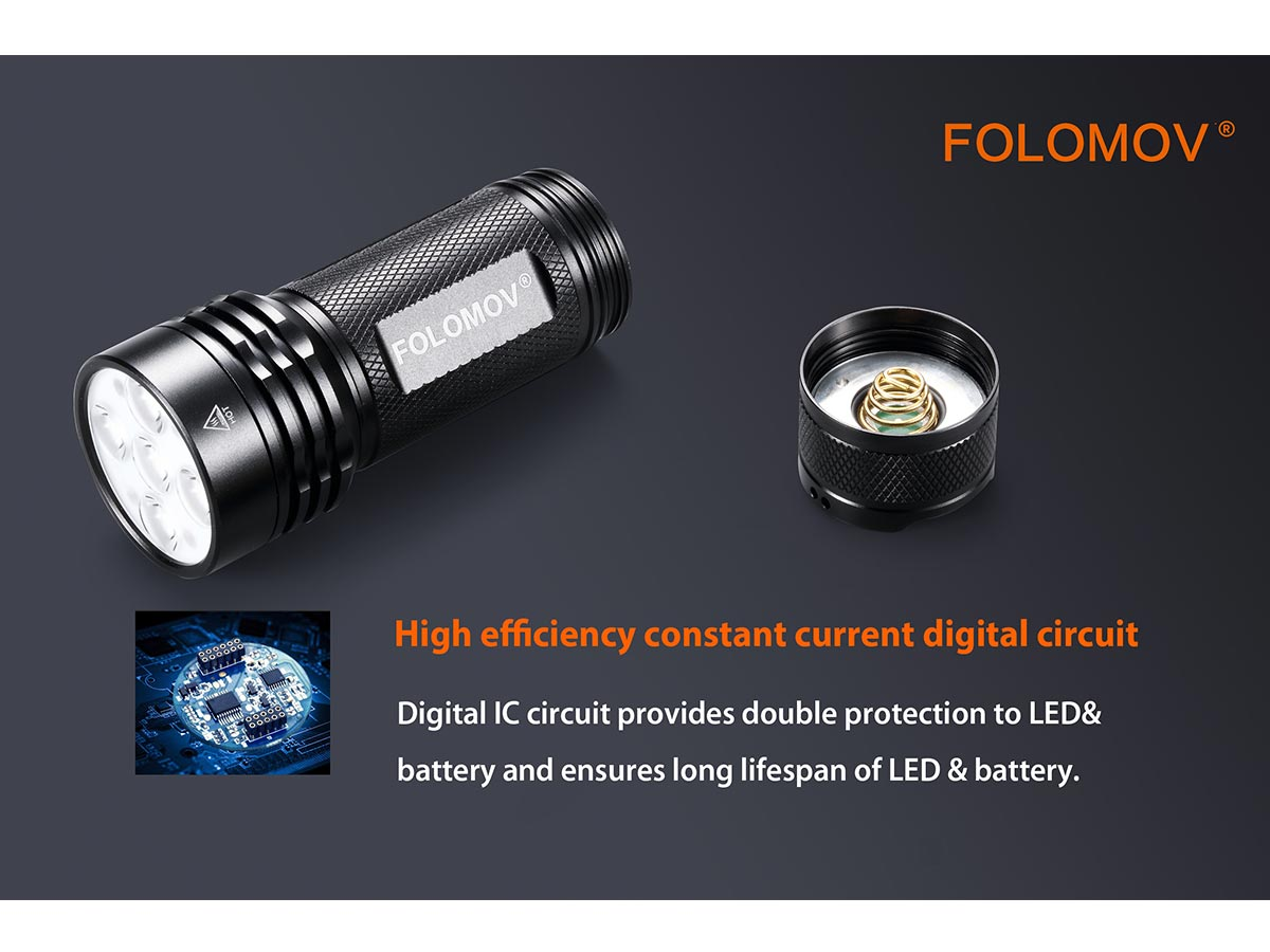 manufacturer slide about the constant current digital circuitry