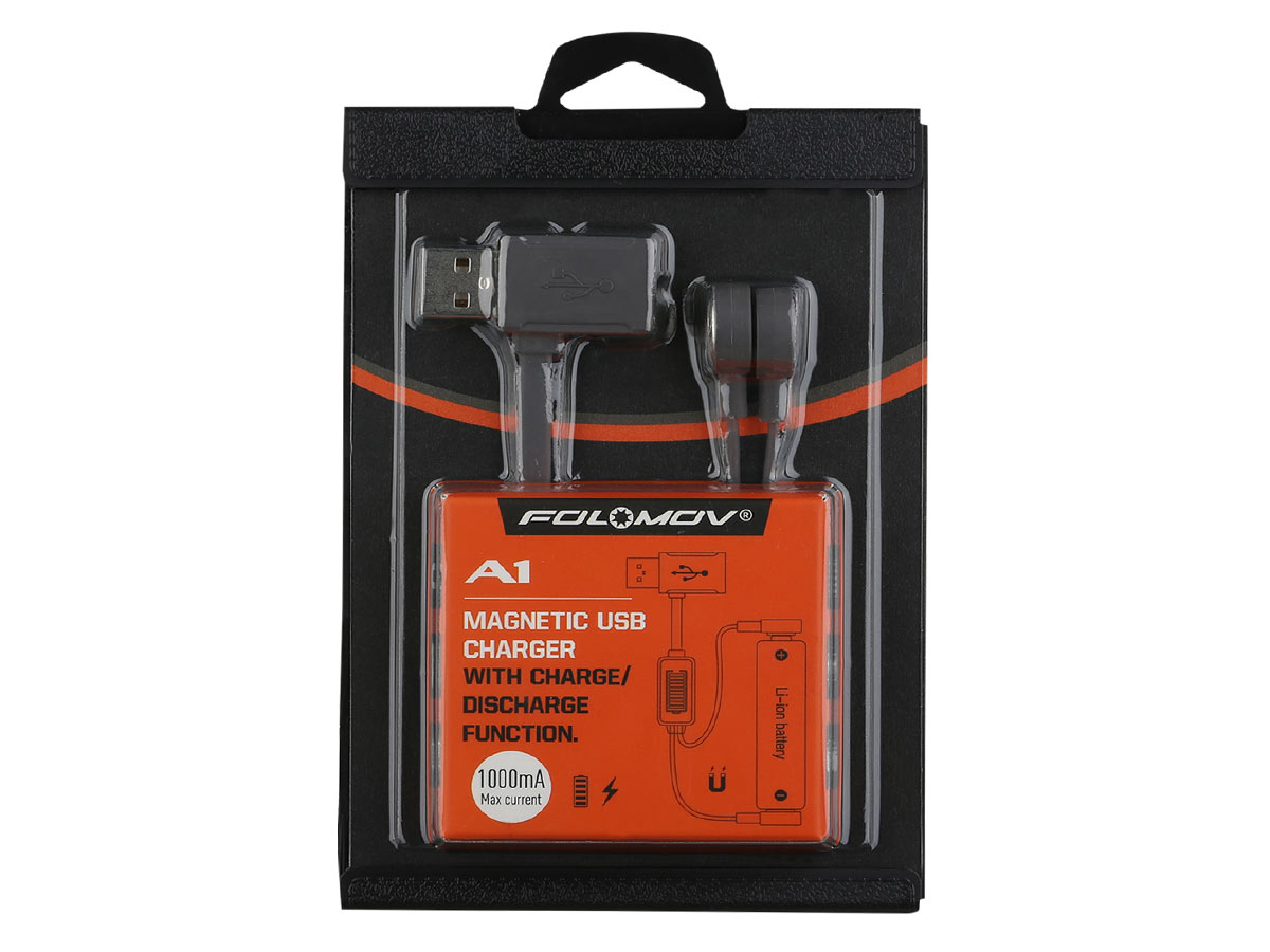 folomov a1 charging cable retail packaging