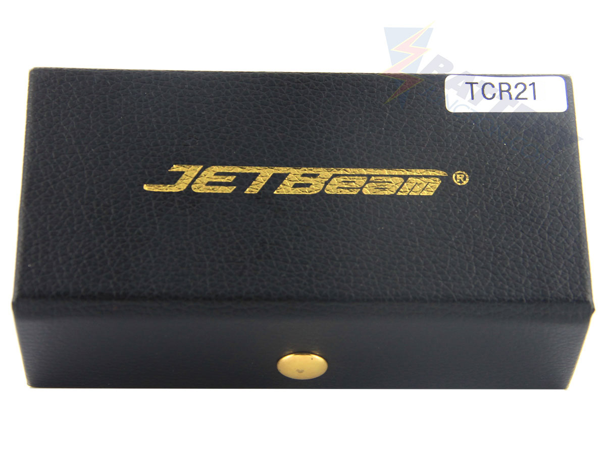 Packaging for JETBeam TCR21 Ti flashlight