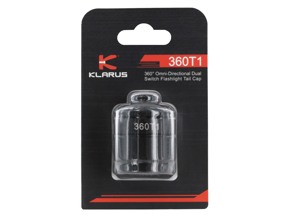 Klarus 360T1 Omni-Directional Rapid Response Tactical Torch Tail Switch