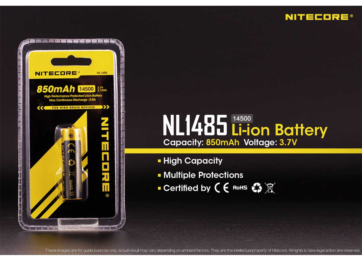 14500 Battery with Blister Packaging