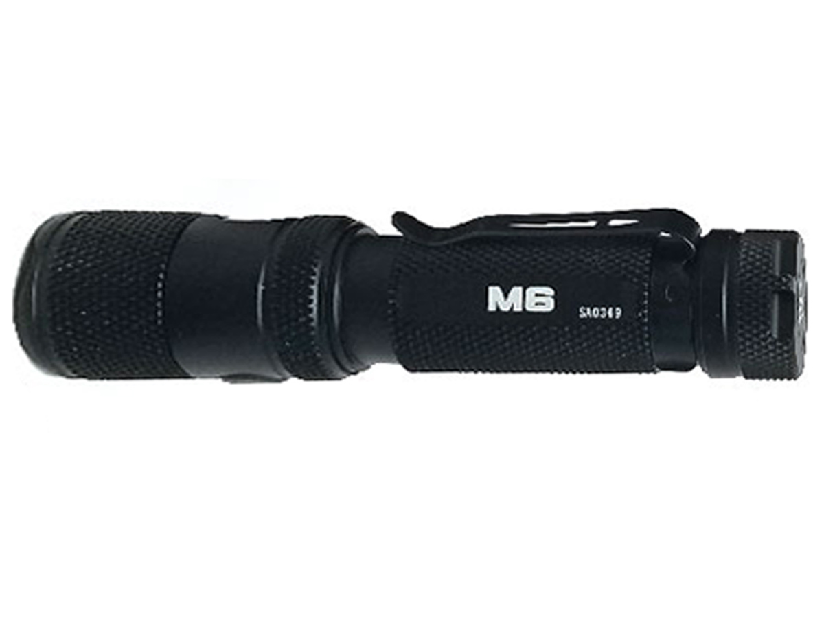 Side view of the Powertac M6