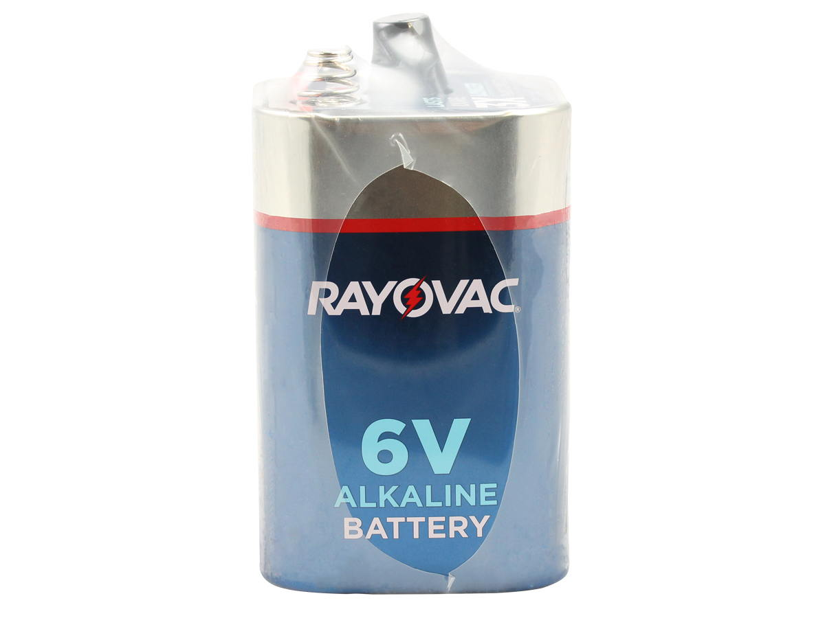 Standing Shot of the Rayovac 808 F Cell 6V Alkaline Lantern Battery