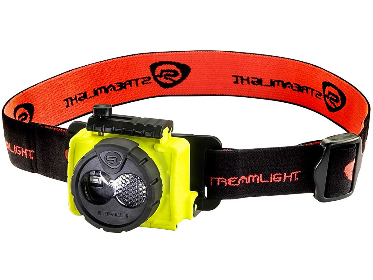 Alkaline Powered Yellow Headlamp