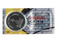 Maxell CR2016 90mAh 3V Lithium Primary (LiMNO2) Coin Cell Battery - Hologram Packaging - 1 Piece Tear Strip, Sold Individually