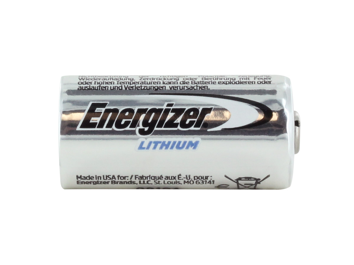 Energizer EL123A 3V 1500mAh Photo Lithium Battery