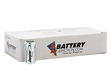 Energizer ELCR123A-VP (50PK) 1500mAh 3V Lithium Primary (LiMNO2) Button Top Batteries - Box of 50