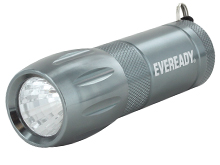 Energizer Eveready 3 LED Metal Flashlight - 21 Lumens - Uses 3 x AAA