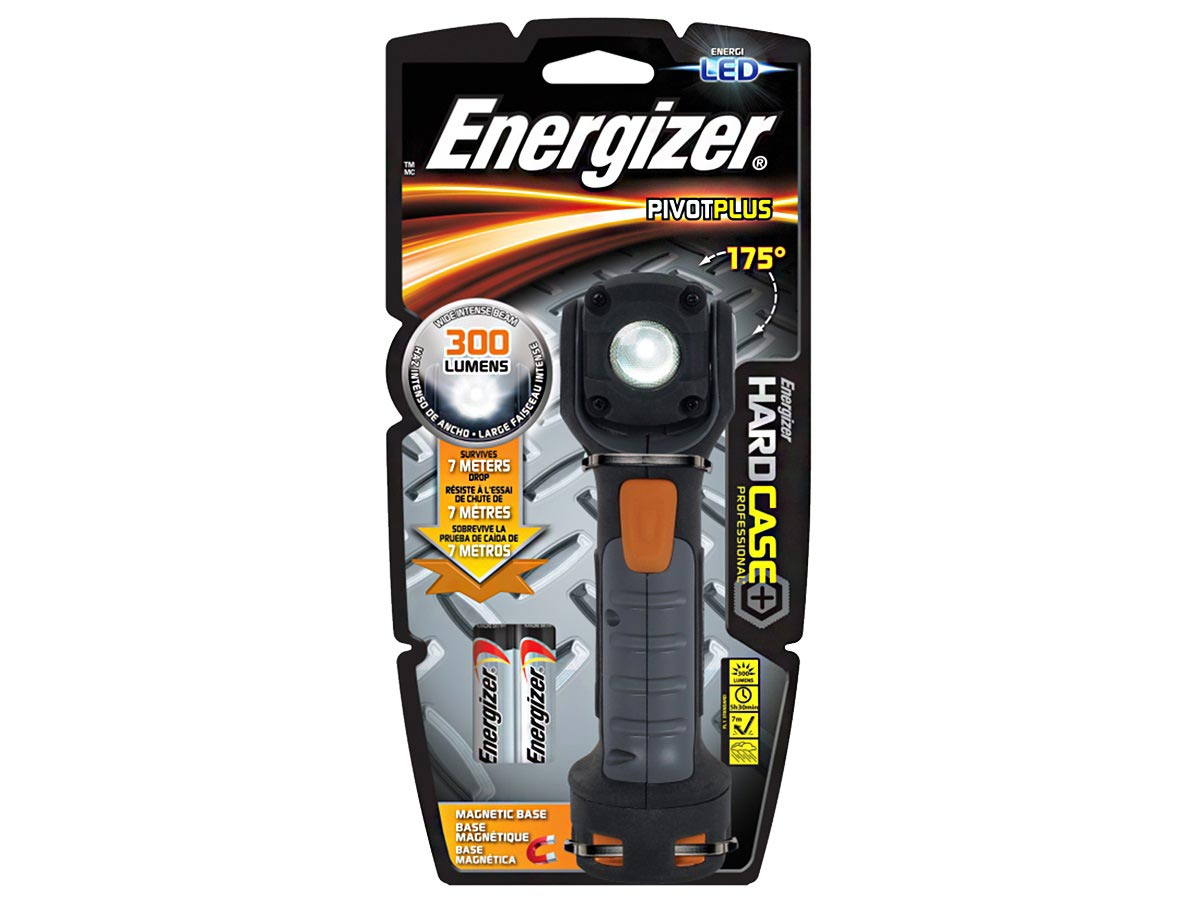 Energizer PivotPro Flashlight left side angle
