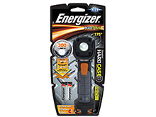 Energizer Hard Case Professional PivotPro 2AA Flashlight - 300 Lumens - Includes 2 x AA (HCSW21E)