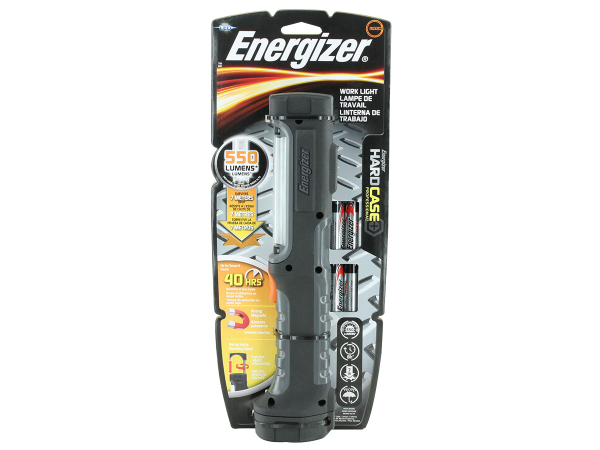 Energizer Hard Case Professional Work Light right side angle