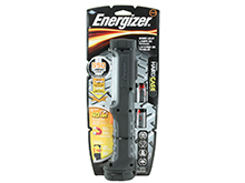 Energizer Hard Case Professional Work Light - 550 Lumens - Uses 4 x AA Batteries (Included)