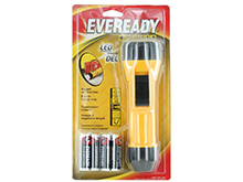 Energizer Eveready Industrial 2D LED Flashlight - 65 Lumens - Includes 2 x D Cells (EVINL25S)