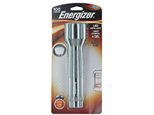 Energizer LED Metal Light - 100 Lumens - Includes 2 x D-cells - ENML2DS