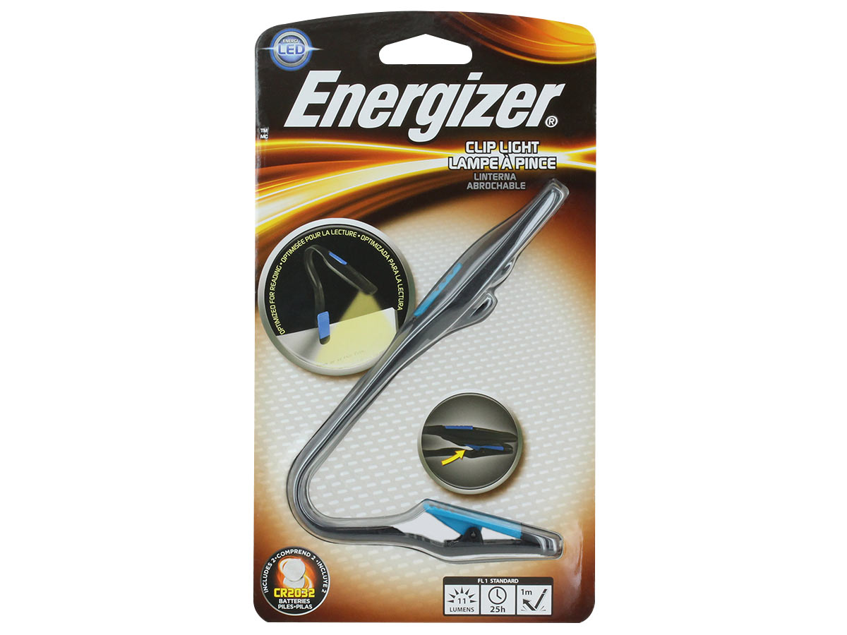 Energizer Reading Booklight front view