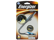 Energizer Clip Light - LED Reading Booklight with Flexible Neck - 11 Lumens - Includes 2 x CR2032s - FNL2BU1CS