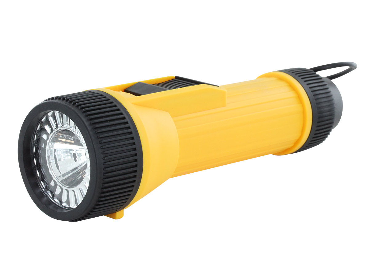 2D LED Flashlight with Hanging Ring
