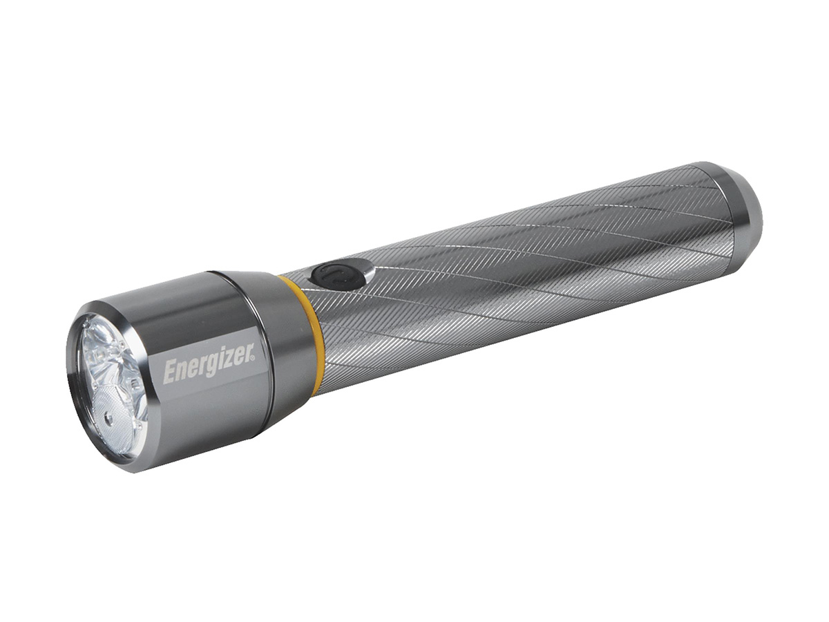 Package shot of the 1300 Lumen flashlight