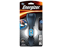 Energizer Touch Tech LED Flashlight - 50 Lumens - Includes 2 x AA Batteries - ENTHH21E
