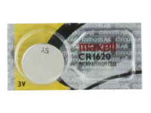 Maxell CR1620 68mAh 3V Lithium Primary (LiMNO2) Coin Cell Battery - Hologram Packaging - 1 Piece Tear Strip, Sold Individually