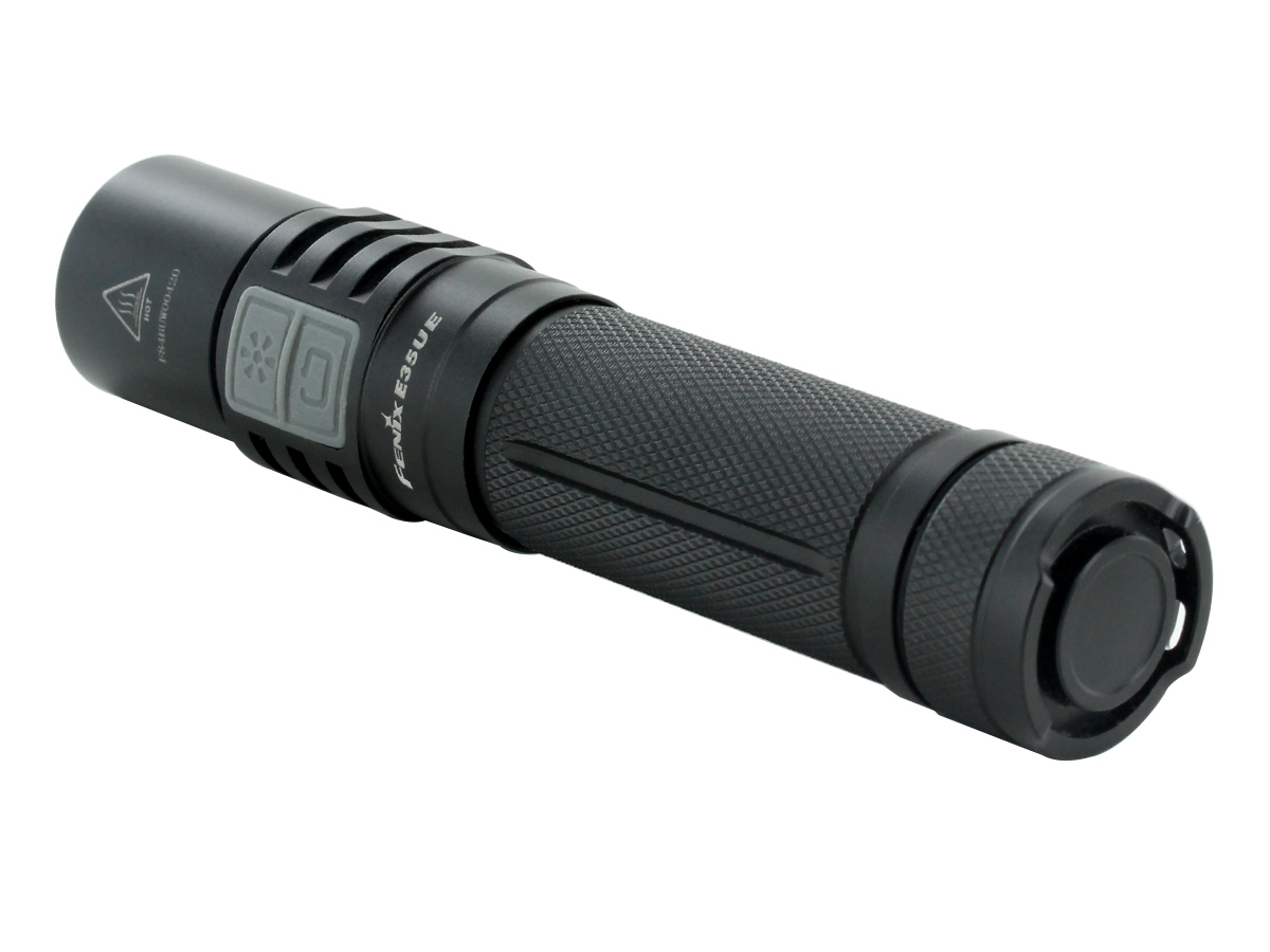 Fenix E35UE flashlight right side angle
