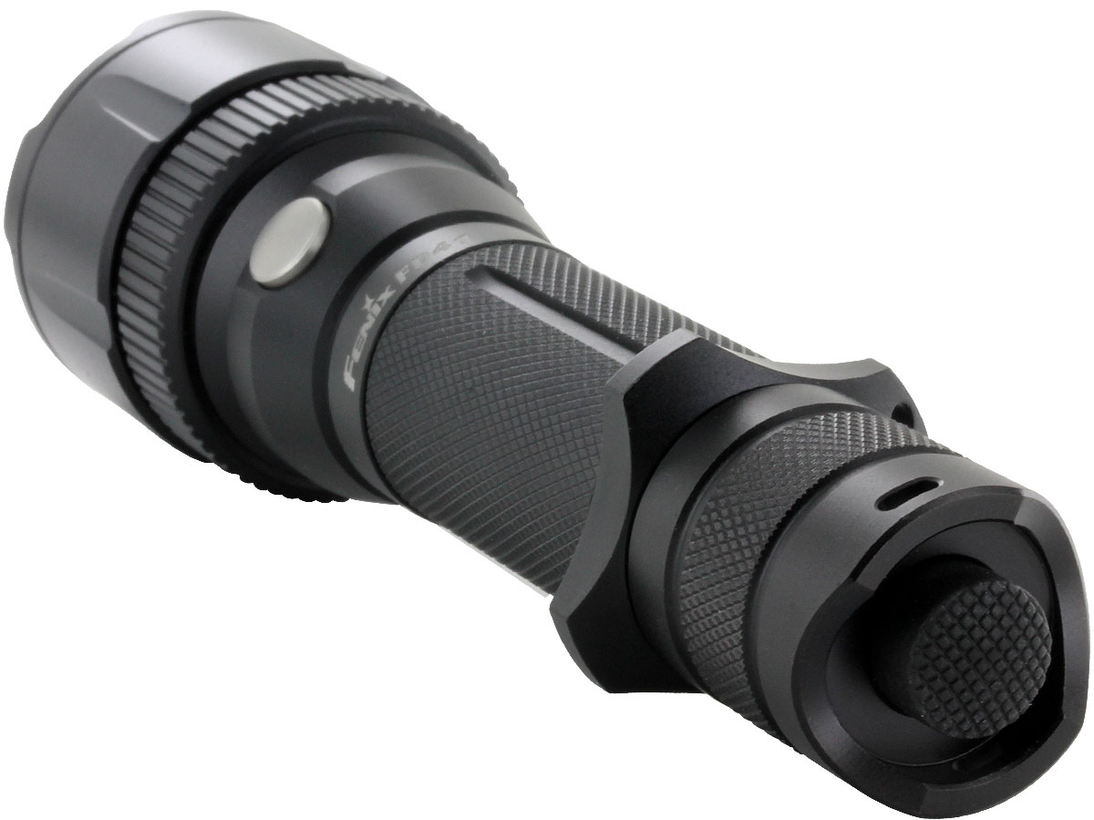 Right side angle of Fenix FD41 flashlight