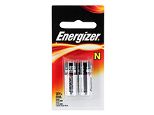 Energizer E90-BP-2 N 1.5V Alkaline Button Top Batteries - 2 Piece Retail Card