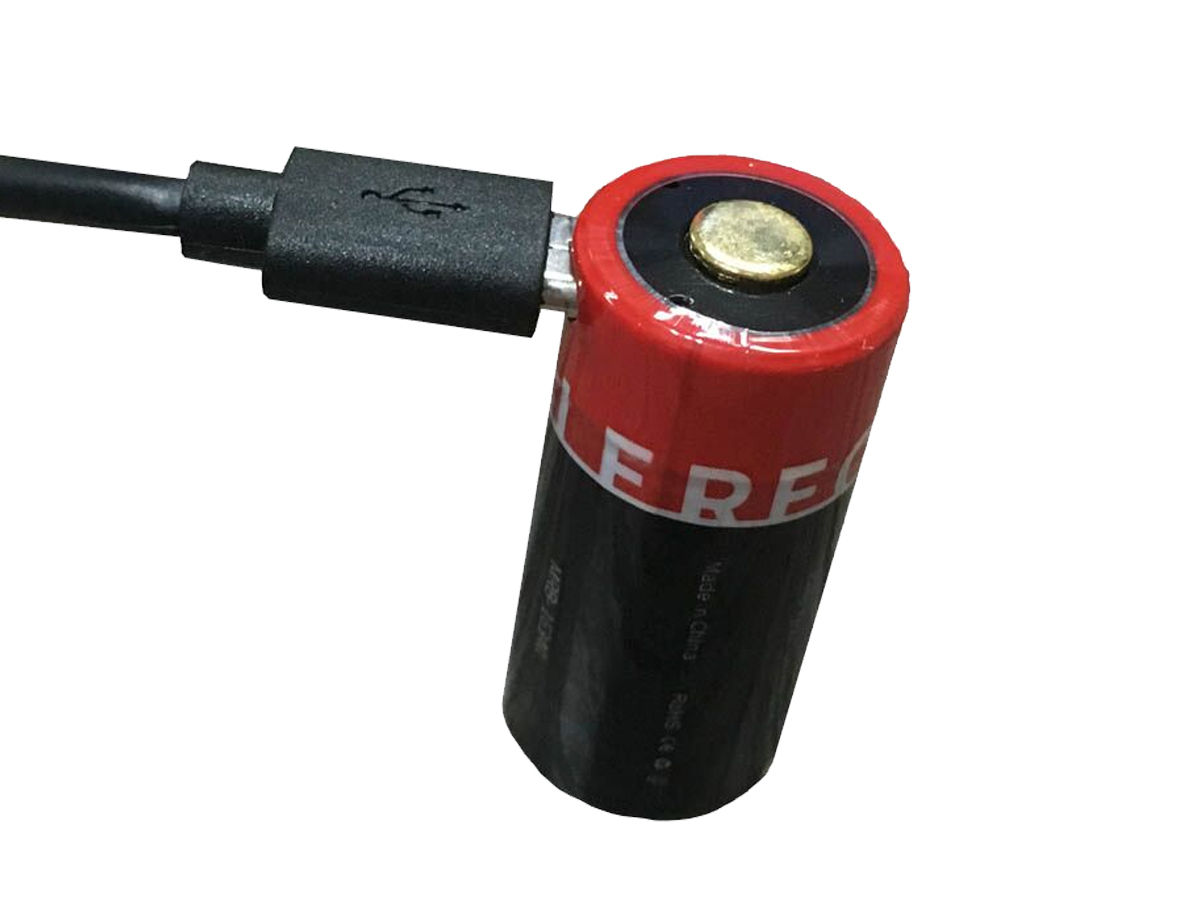 Micro-USB Rechargeable 16340