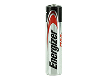 Energizer Max E92-VP AAA 1.5V Alkaline Button Top Batteries - Bulk