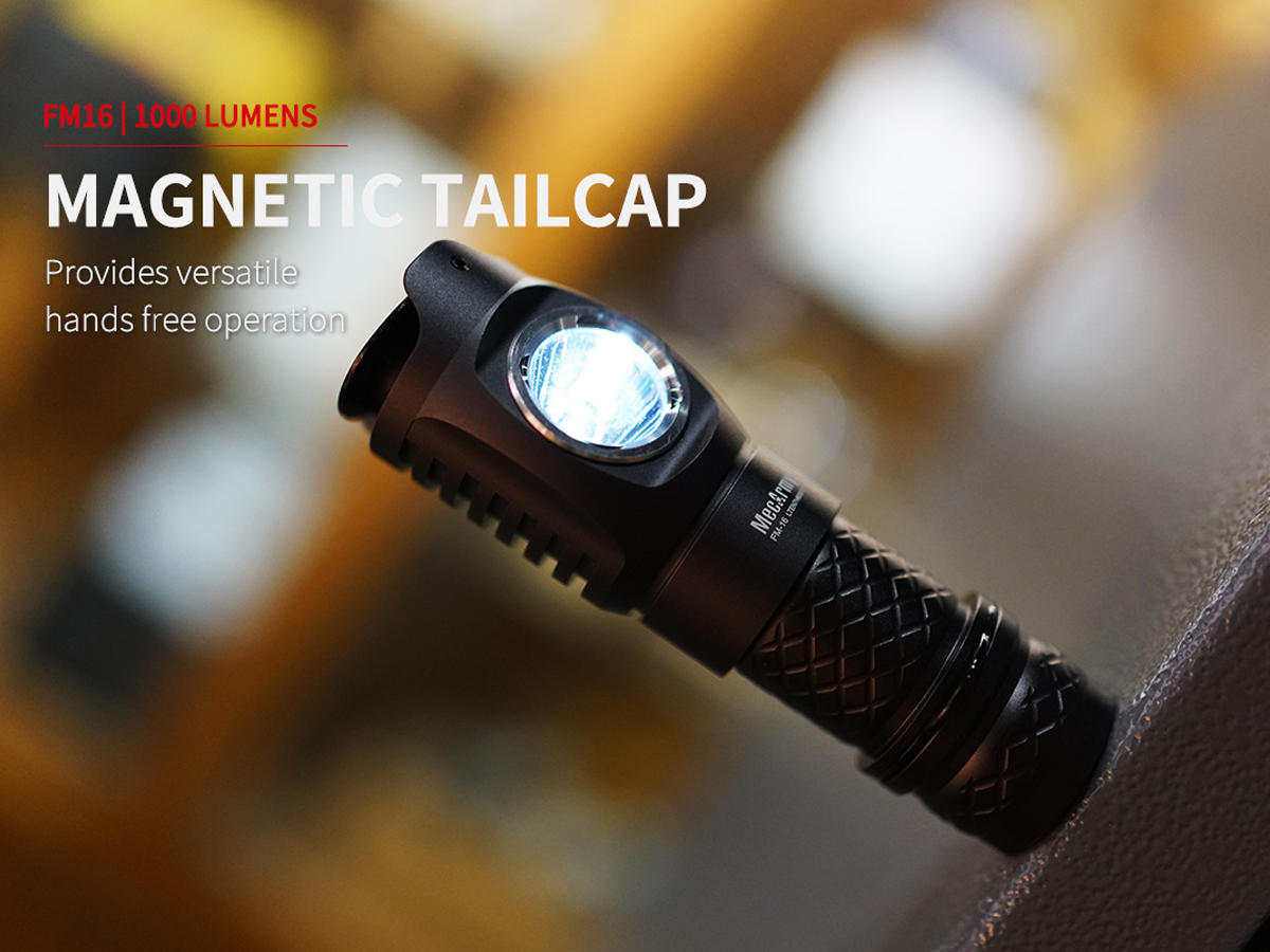 Magnetic Tailcap