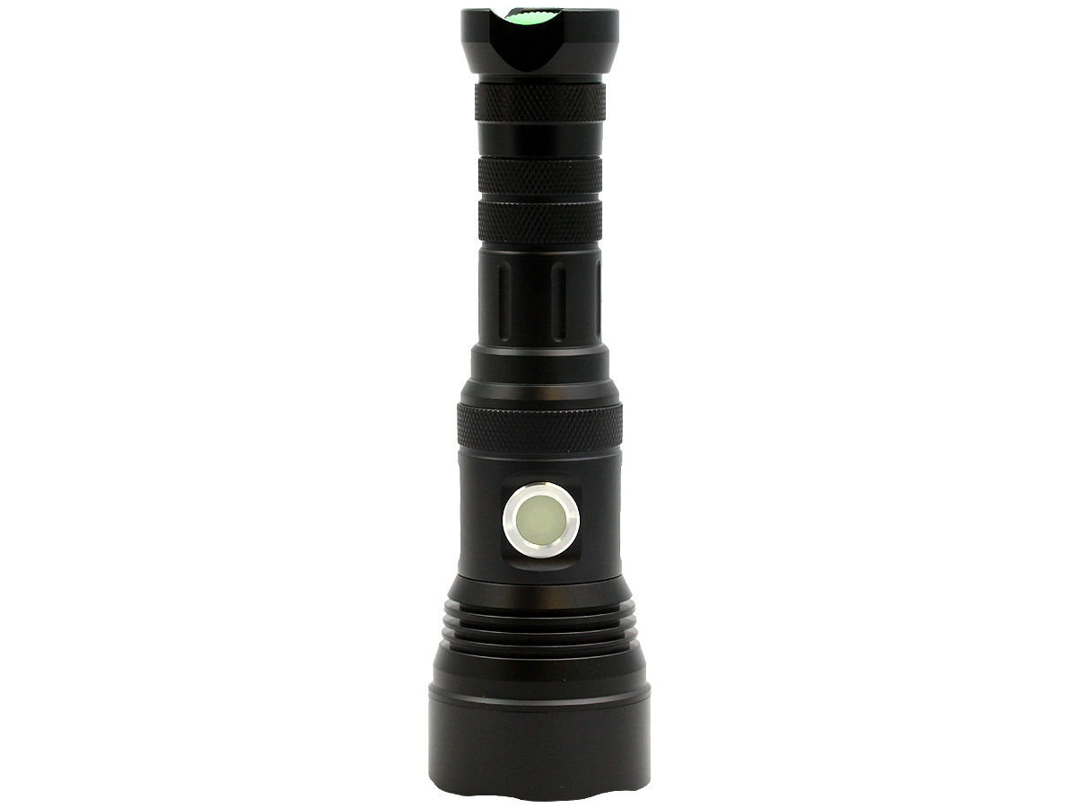 Standing Shot of the LumaPower Strive TRX Rechargeable LED Flashlight