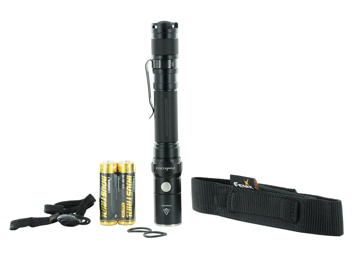 Accessories for Fenix LD22 flashlight