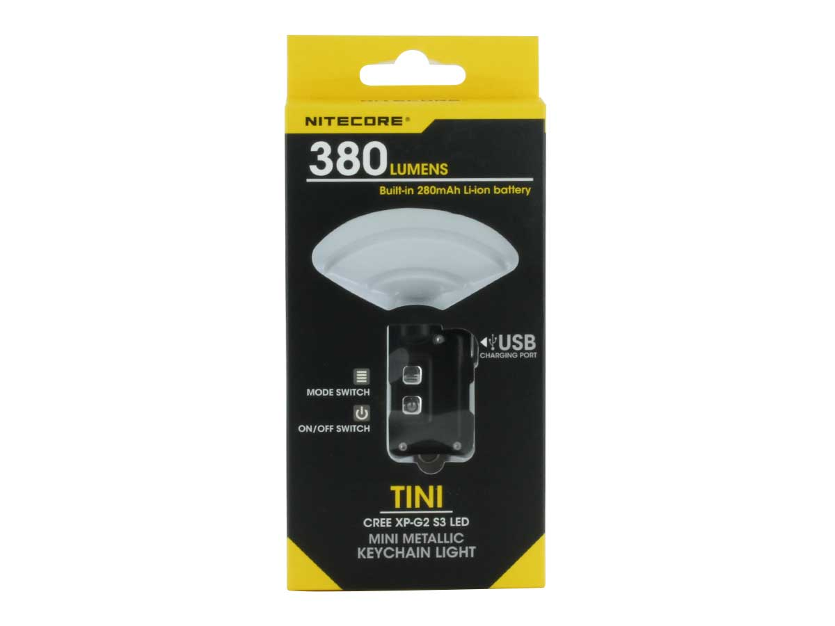 Nitecore TINI compact and lightweight