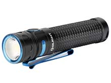 Olight Baton Pro Rechargeable LED Flashlight - 2000 Lumens - Includes 1 x 3.6V 3500mAh 18650