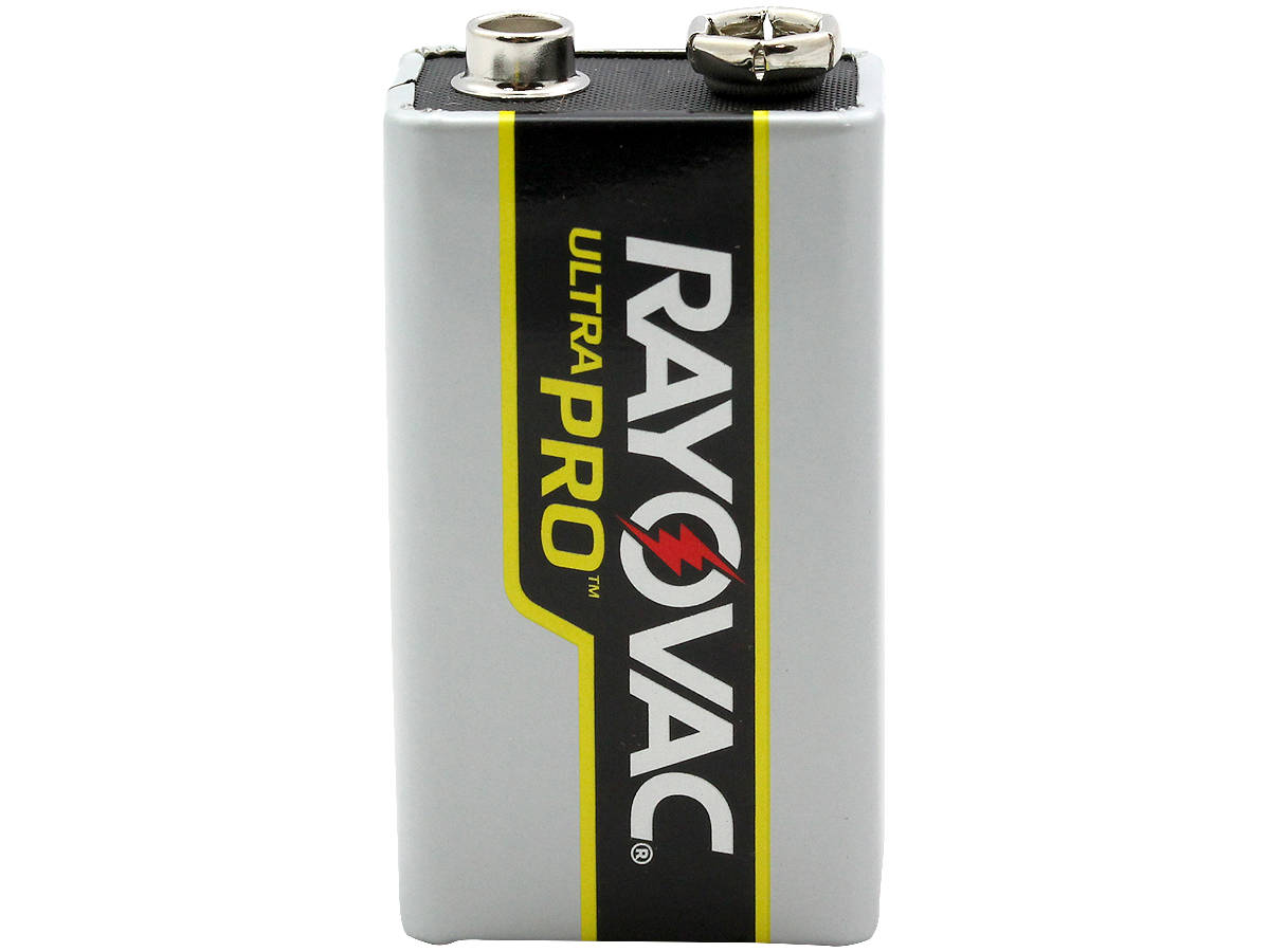 Standing Shot of the Rayovac Ultra Pro AL-9V