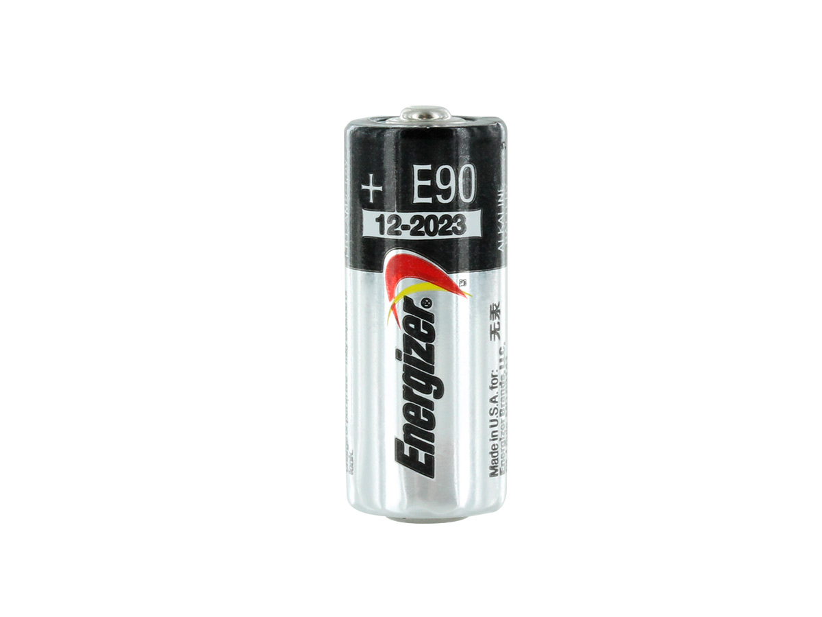 Energizer E90-VP N 1.5V Alkaline Button Top Battery - standing vertically