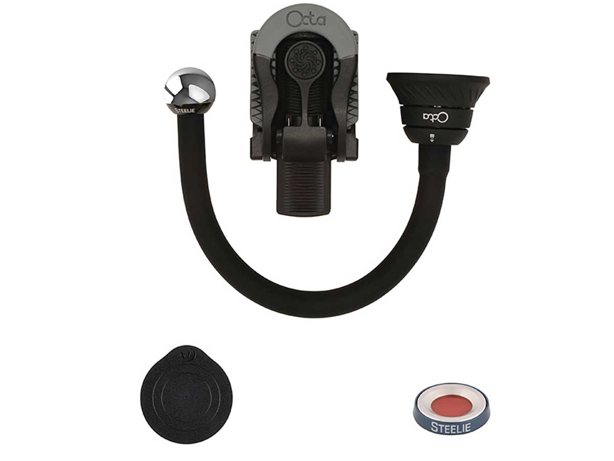 Nite Ize Steelie Bendable Arm and Ratcheting Clamp Kit