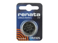 Renata CR2325-CU 190mAh 3V Lithium Primary (LiMNO2) Coin Cell Battery - 1 Piece Small Retail Card