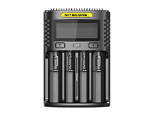 Nitecore UM4 Intelligent USB Four-Slot Charger for Li-ion, Ni-Cd, and Ni-MH