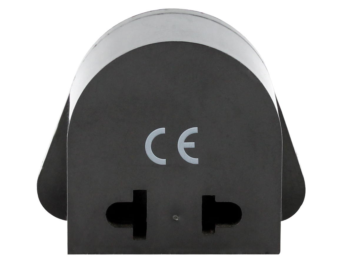 Back of the UK Plug Adapter Type G SS405 (no ground)