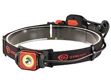 Streamlight Twin-Task USB Rechargeable LED Headlamp - 375 Lumens -  Includes 1 x 2200mAh 18650 - Black and Red