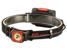 Streamlight Twin-Task 3AA Headlamp - Includes 3 x AA Alkaline Batteries - Elastic Head Strap - Red