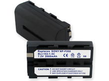 Empire BLI-153-15C 2000mAh 7.2V Replacement Lithium Ion (Li-Ion) Camcorder Battery Pack for the SONY NP-F550