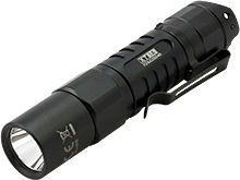 Klarus XT1A (2018) Tactical EDC Flashlight - CREE XP-L HD V6 LED - 1000 Lumens - Uses 1 x 14500 (Included) or 1 x AA